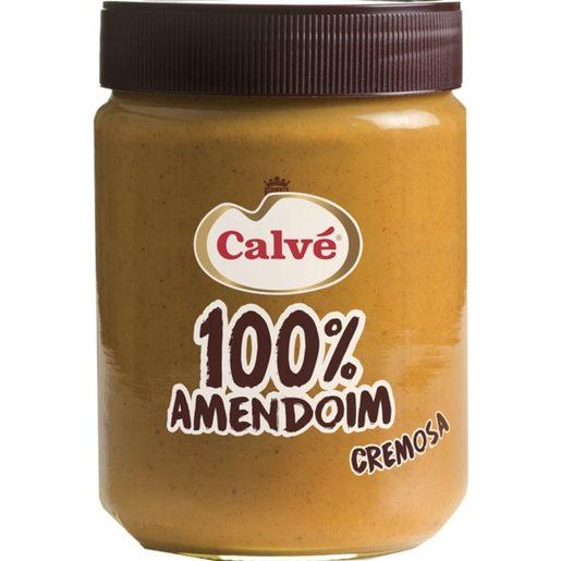 CALVÉ Manteiga de Amendoim Cremosa 350 g