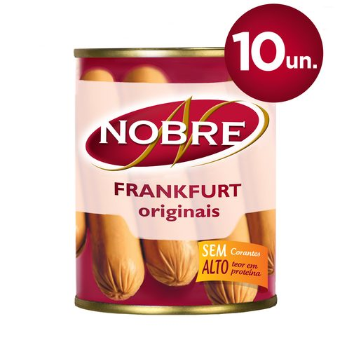 NOBRE Frankfurt Salsichas Lata 10 Un