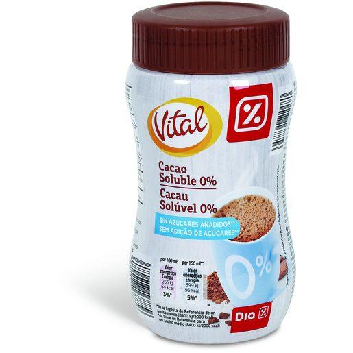 DIA VITAL Bebida Cacau Solúvel 0% 325 g