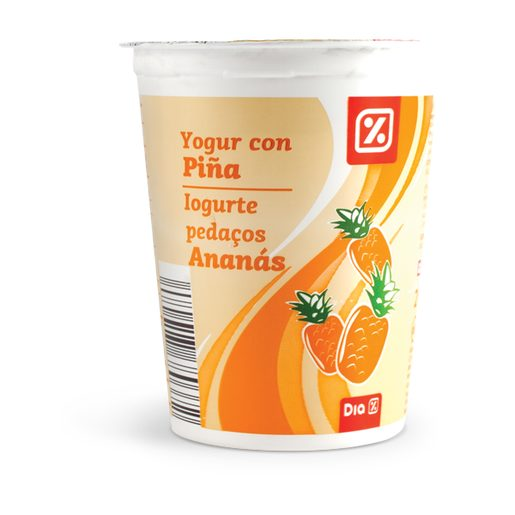 DIA Iogurte com Pedaços Ananás 200 g