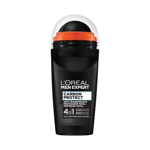 L'ORÉAL Desodorizante Roll-On Men Expert Carbon Protect Intense Ice 50 ml