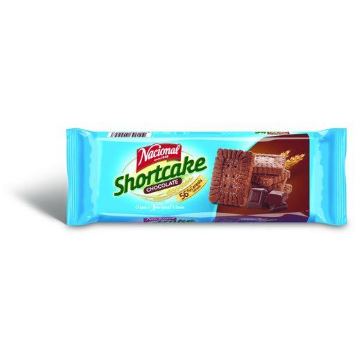 NACIONAL Bolachas Shortcake de Chocolate 180 g