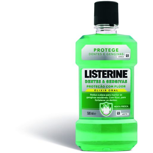 LISTERINE Elixir Bucal Dentes & Gengivas 500 ml