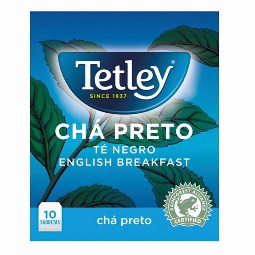 TETLEY Chá Preto 10 Un