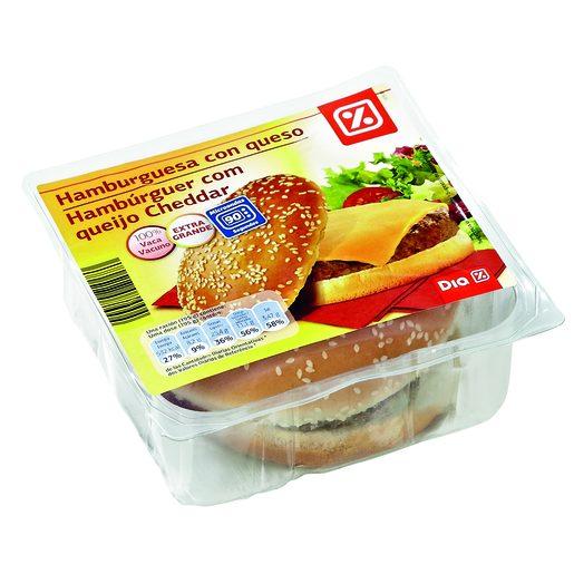 DIA Hambúrguer Com Queijo XXL 195 g