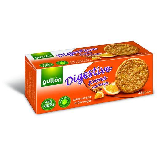 GULLÓN Bolacha Digestive Aveia e Laranja 425 g