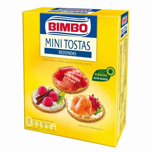 BIMBO Mini Tosta Redonda  100 g