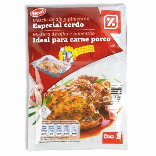 DIA Mistura de Alho E Pimentão Para Carne Porco  30 g