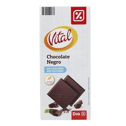 DIA VITAL Chocolate Negro Sem Açúcar 100 g
