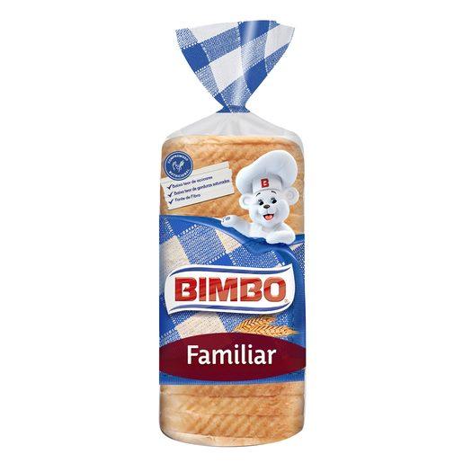 BIMBO Pão de Forma Com Côdea Familiar 700 g