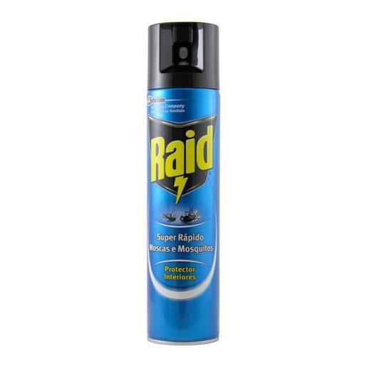 RAID Inseticida Spray Para Moscas E Mosquitos 400 ml