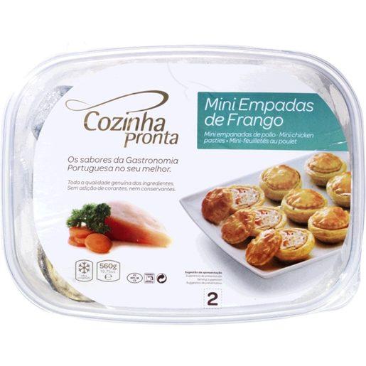 COZINHA PRONTA Mini Empadas de Frango 560 g