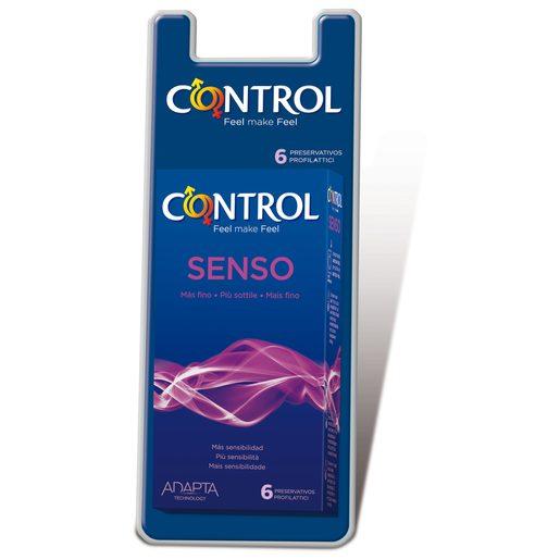 CONTROL Preservativos Sensitive 6Ud 6 Un