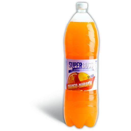 SUPERGUSS Refrigerante Sem Gás de Laranja E Manga 2 L