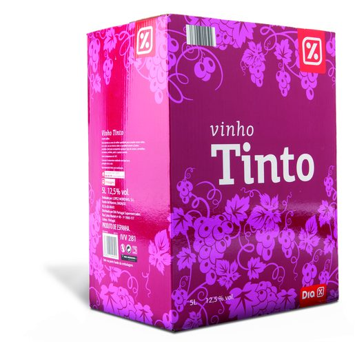 DIA Vinho Tinto Bag In Box 5 L