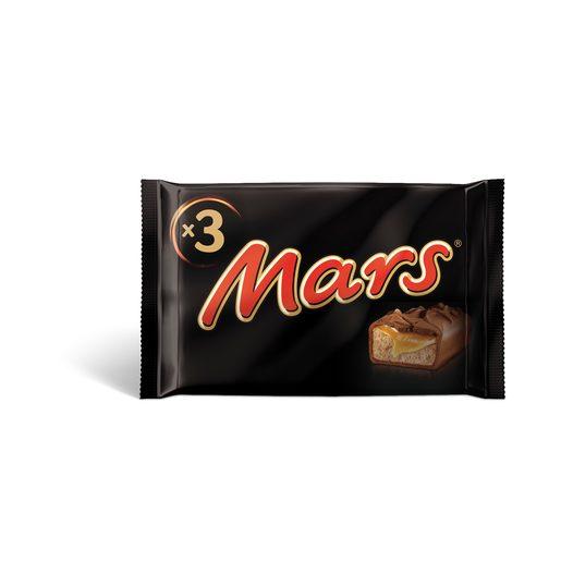 MARS Snack de Chocolate E Caramelo 3x45 g