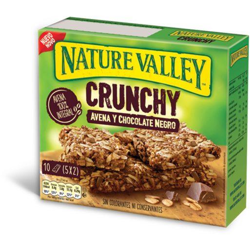 NATURE VALLEY Barrita Aveia & Chocolate Negro 210 g
