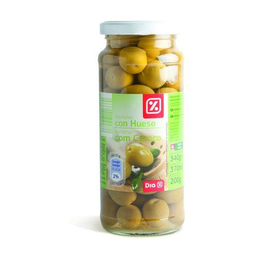 DIA Azeitonas Verdes Com Caroço 200 g