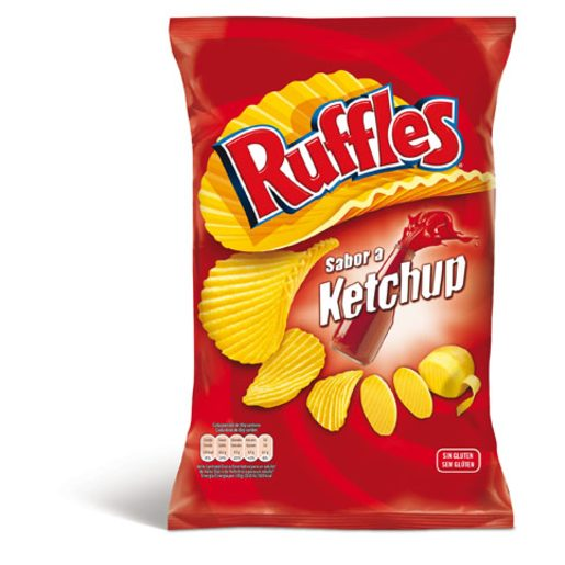 RUFFLES Batata Frita Heinz Ketchup 160 g