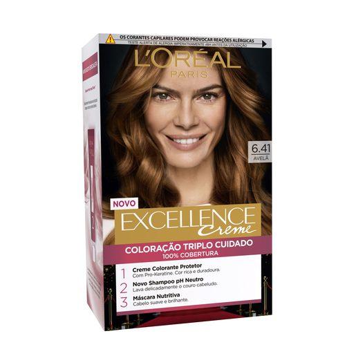 EXCELLENCE Coloração Permanente Excellence Creme Avelã 6.41 1 Un