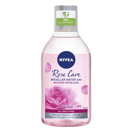 NIVEA Água Micelar Óleo E Água Rosas 400 ml