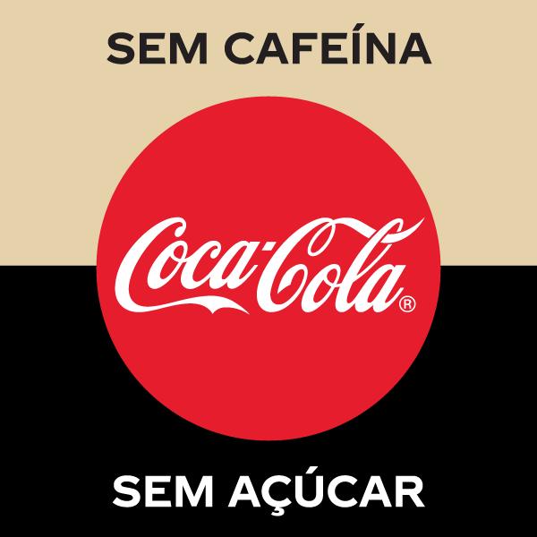 Coca-Cola sem açucar e sem cafeína