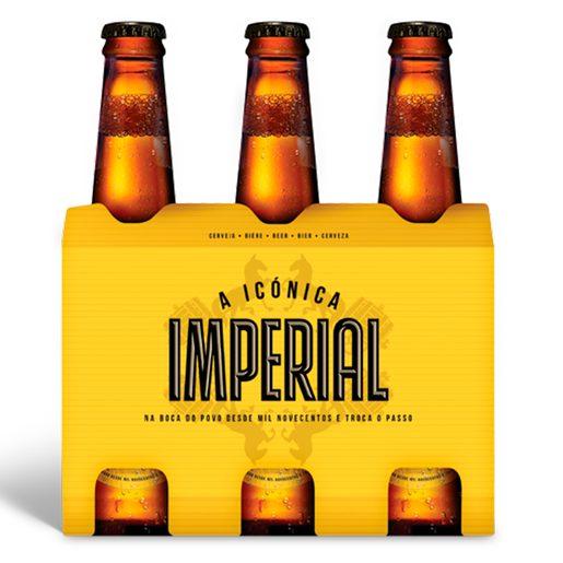 IMPERIAL Cerveja com Álcool 6x330 ml