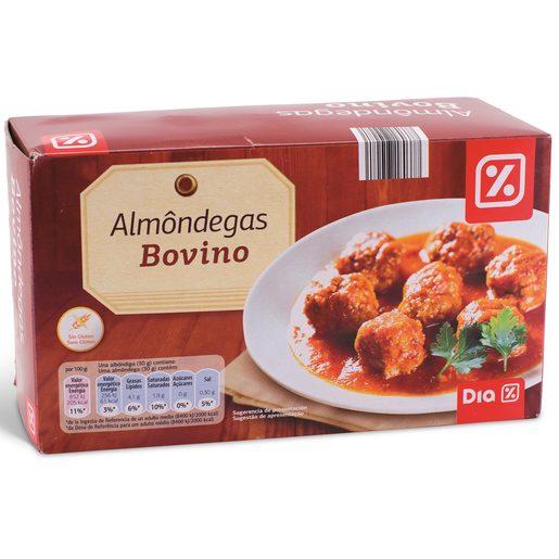 DIA Almôndegas de Bovino sem Glúten 900 g