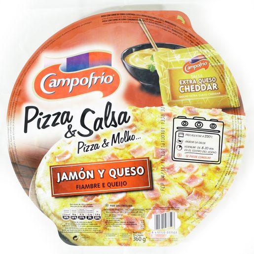 CAMPOFRIO Pizza Queijo E Fiambre 360 g