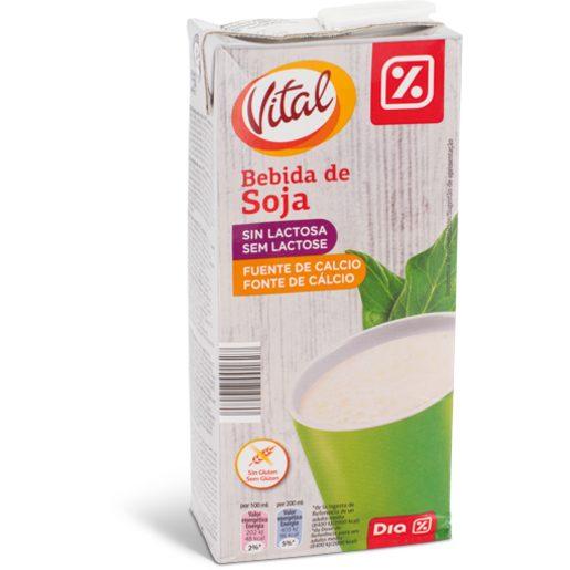 DIA VITAL Bebida de Soja Natural 1 L