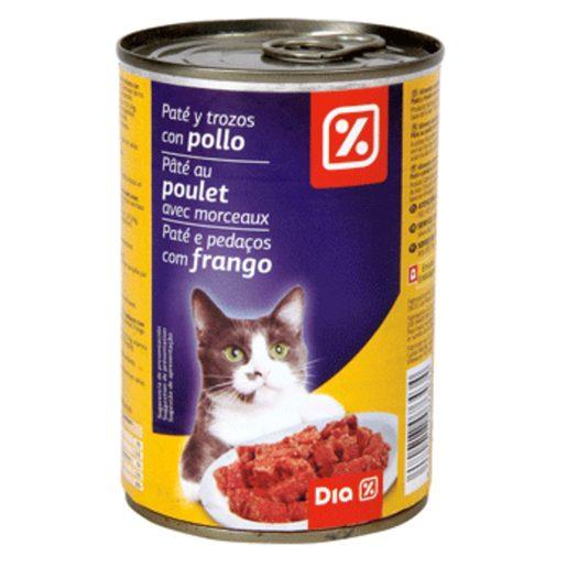 DIA Paté Frango para Gato 400 g