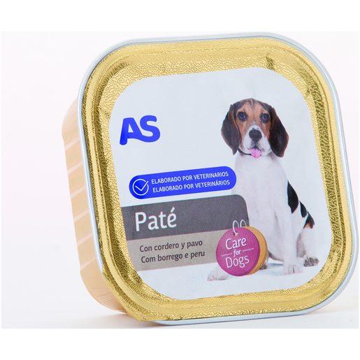 AS Paté de Borrego E Peru Para Cão 150 g