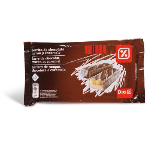 DIA Barrita de Nougat Chocolate E Caramelo 5x40 g