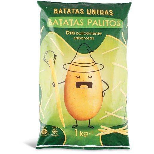 BATATAS UNIDAS Batata Pré-Frita Palitos Para Forno 1 kg