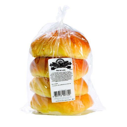 FORNADA DO DIA Pão de Leite 4x60 g