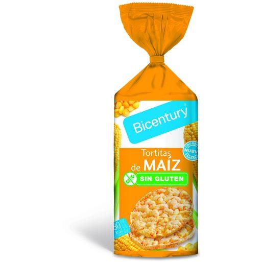 BICENTURY Tortitas de Milho Sem Glúten 130 g
