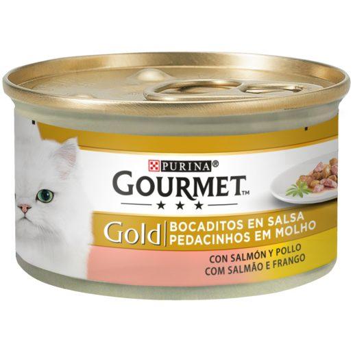 PURINA GOURMET Alimento Para Gato Salmão/Frango 85 g