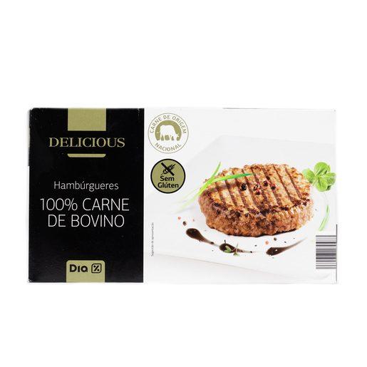 DIA DELICIOUS Hambúrguer De Carne De Vaca 100% 1 kg