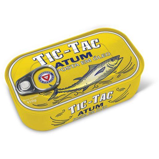 TIC TAC Posta de Atum em Óleo 110 g