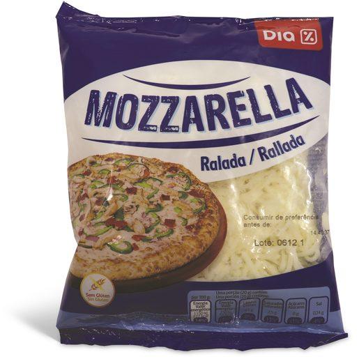 DIA Queijo Mozzarela Ralado 200 g