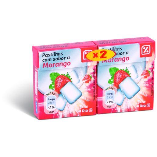 DIA Pastilhas Elásticas Morango 2x16,8 g