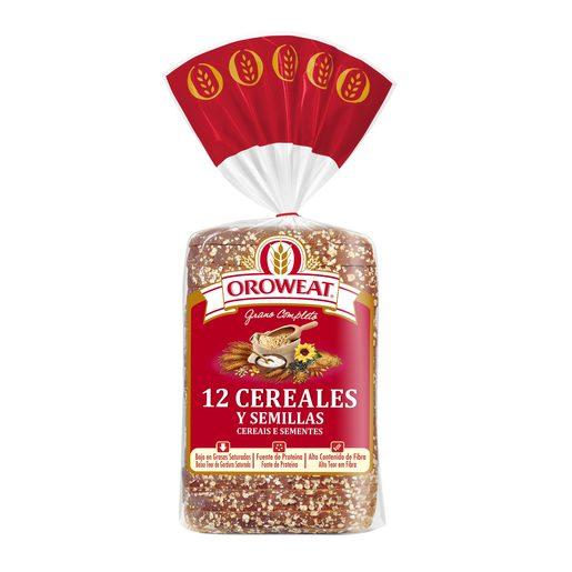 OROWEAT Pão de Forma 12 Cereais E Sementes 680 g