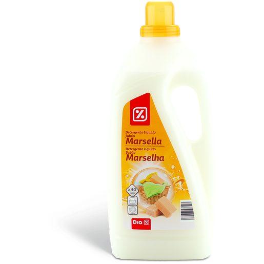 DIA Detergente Líquido Para Roupa Sabão Marselha 40 Lv
