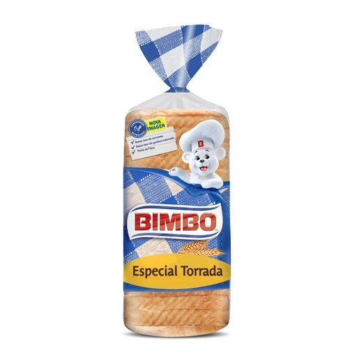 BIMBO Pão Forma com Côdea Especial Torradas 700 g