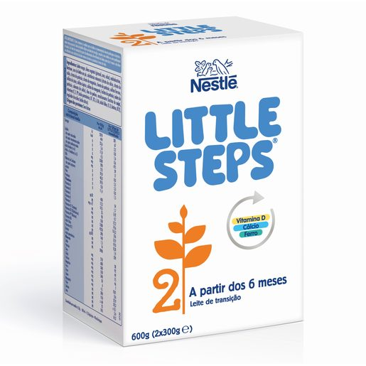 NESTLÉ Leite de Transição 2 Little Steps 2x300 g