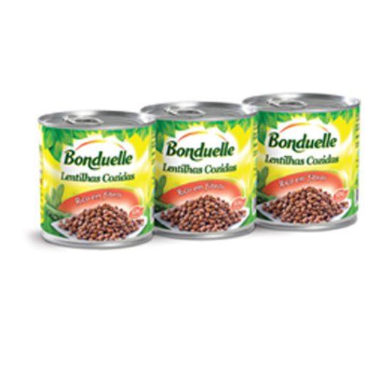 BONDUELLE Lentilhas 3x200 g