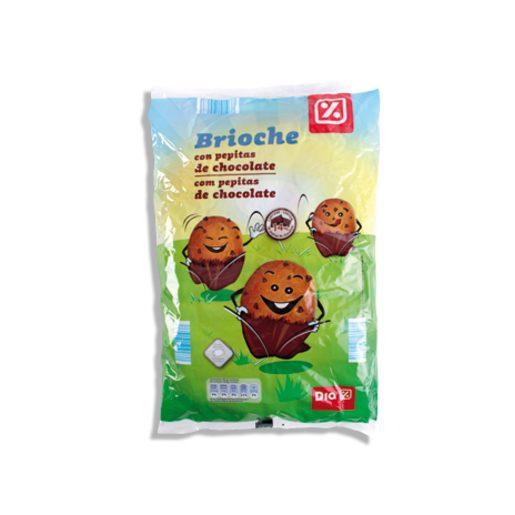 DIA Brioche Com Pepitas de Chocolate 320 g