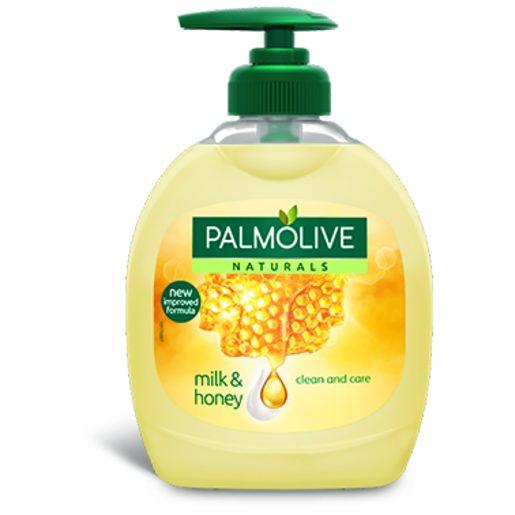 PALMOLIVE Sabonete Líquido Leite & Mel 300 ml