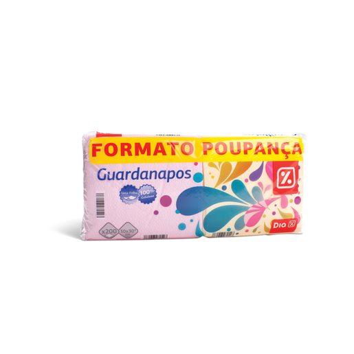 DIA Guardanapos Cores 1 Folha 2x100 Un