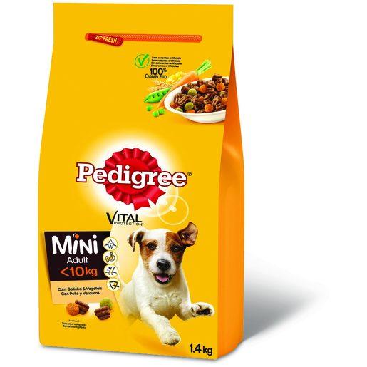 PEDIGREE Alimentação Seca Galinha Para Cão Raças Peq. 1,4 kg